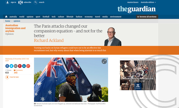 The Guardian - Anti-Islam November 2015