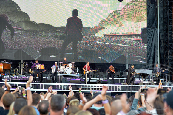 Springsteen woos huge Australian audience, Melbourne, Australia - 2 Feb 2017