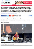 Daily Mail - UK/AUS - Springsteen