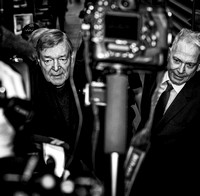 Cardinal Pell fronts Melbourne Magistrates' Court
